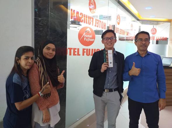 Whizzl x Hotel Fujisan Kuala Lumpur