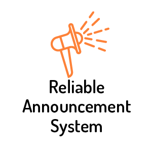Reliable Announcement System