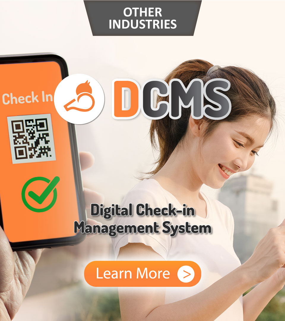 Other Industries, Whizzl, DCMS, Digital Check-in Management System, Learn More